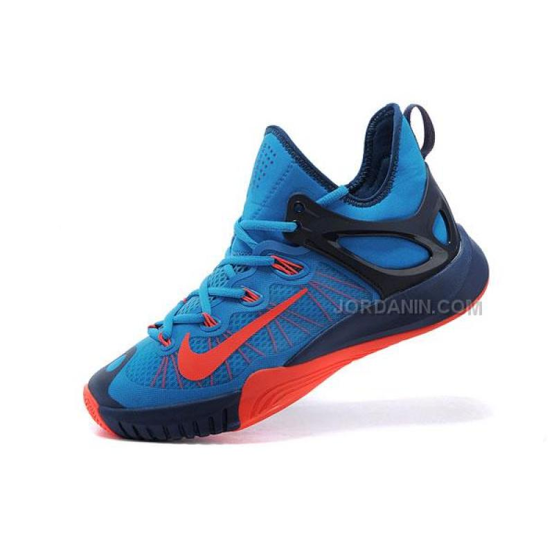 online nike zoom hyperrev 2015 royal blue red price 78