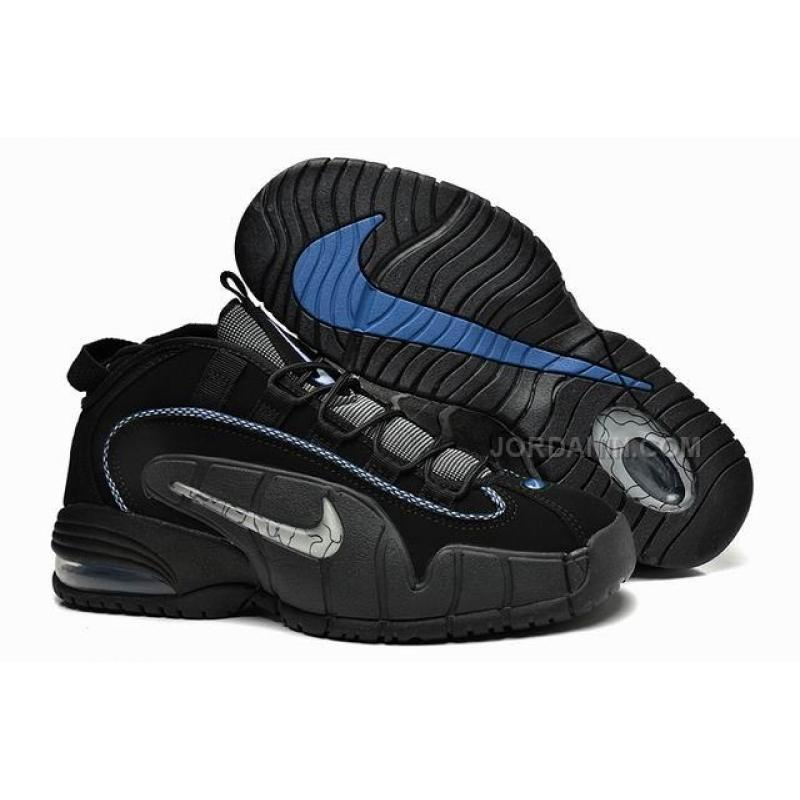 new styles 71f64 a191e USD  76.00. Nike Air Max Penny Retro Shoes Black ...