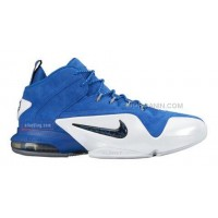 Hot Nike Air Penny 6 Royal Blue Suede