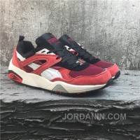 Puma R698 Classic Vintage Running Shoes Red Women/men New Style