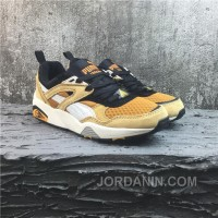 Puma R698 Yellow White Running Shoes Free Shipping
