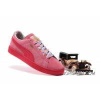 PUMA SPORTSTYLE SUEDE Womens Colorful Pink Best