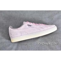 Puma Suede Classic Elemental Women Men Shoes Fur Leather Pink New Style