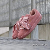 PUMA Suede Heart Satin II 364084-03 ButterFly Pink Discount