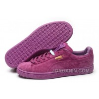 Puma Rihanna Suede Creepers 1608 Women Men Purple