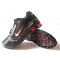 Men's Nike Shox Monster Shoes Black/Red Top Deals