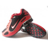 Men's Nike Shox Monster Shoes Red/Black/Silver Online