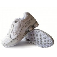 Men's Nike Shox Monster Shoes White/Grey New Release