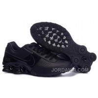 Men's Nike Shox OZ Shoes All Black Top Deals