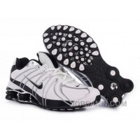 Men's Nike Shox OZ Shoes White/Black/Silver Authentic
