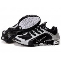 Men's Nike Shox R5 Shoes Black/White New Release