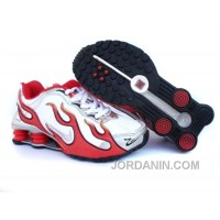 Kid's Nike Shox Rch Shoes White/Gym Red/Grey Cheap To Buy