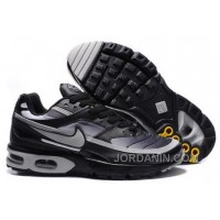 Men's Nike Shox TR Shoes Black/Grey Online