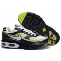 Men's Nike Shox TR Shoes Black/White/Yellow Online
