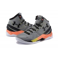 New 2015 NBA Shoes Online Stephen Curry Basketball Sneakers Gray Black 2s