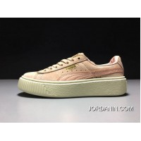 Puma X Rihanna THE CREEPER Pink/White Women Sneaker 363663-09 Free Shipping