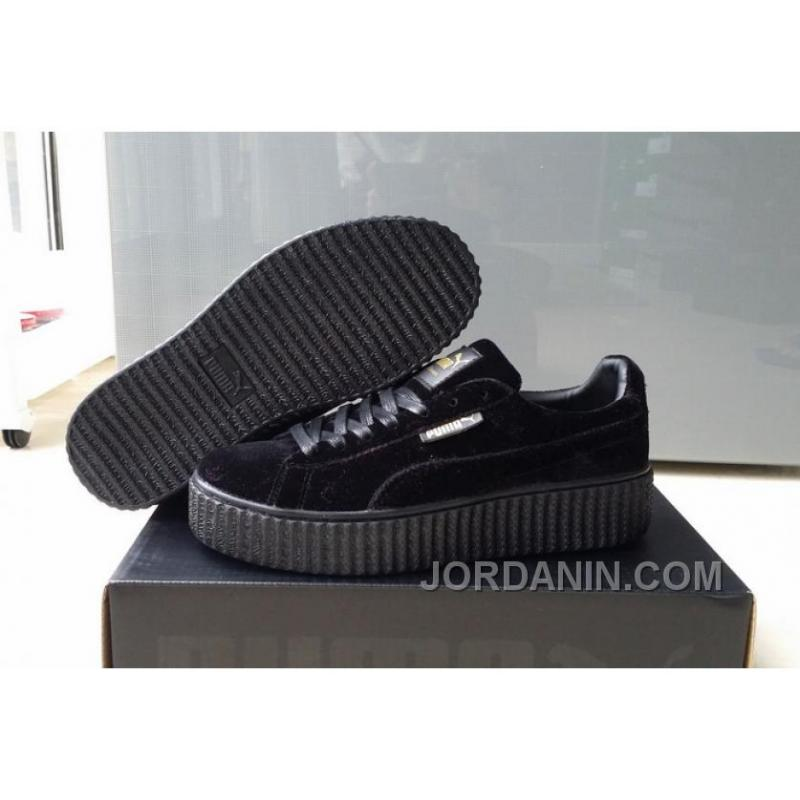 4138c5f408b USD  98.31  363.88. Puma By Rihanna Suede Creepers Black New Release Super  Deals ...