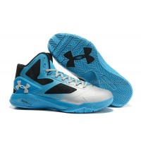 Under Armour ClutchFit Drive II Silver Blue Sale