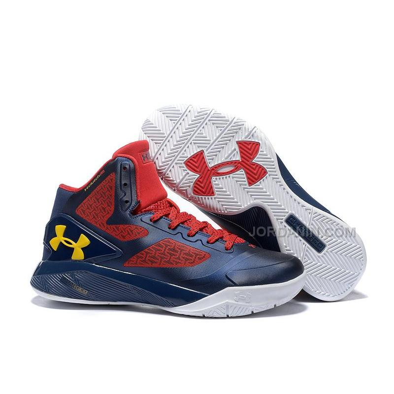 e1f71b60108a USD  84.00. Under Armour Clutchfit Drive II Navy Red White ...