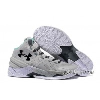 Under Armour Curry 2 Cool Grey PE Sneaker For Sale