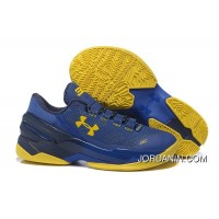 Under Armour Curry 2 Low Dub Nation Sneaker Authentic