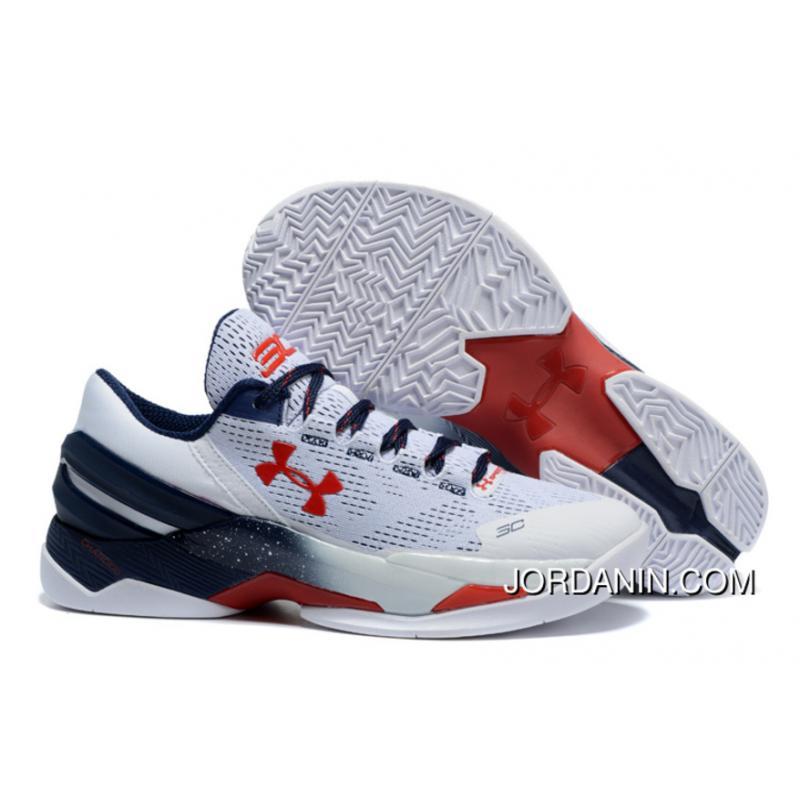 low priced f5b36 d2894 Under Armour Curry 2 Low USA Sneaker New Release