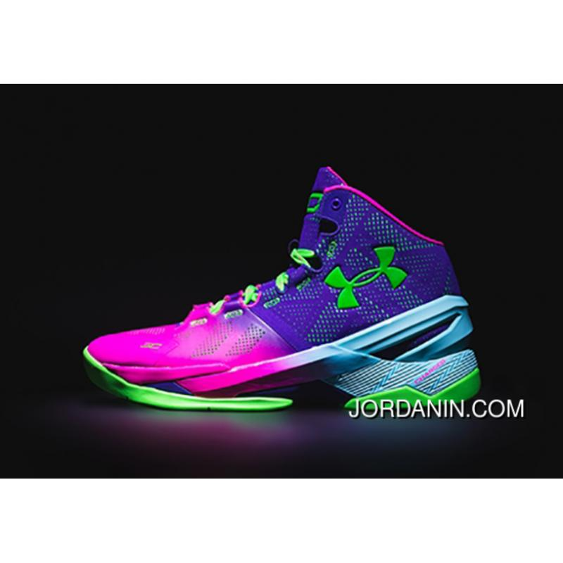 low priced 20326 b3b6c Under Armour Curry Two Northern Lights Sneaker New Style