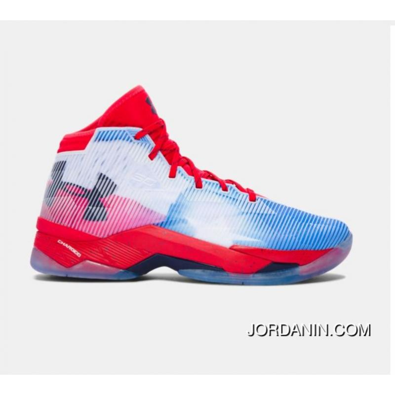 75c4ee9ae567 USD  87.63  271.64. Buy Under Armour Curry 2.5 Red Blue White Mens  Basketball Shoes ...