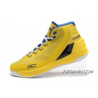 Best Under Armour Curry 3 Yellow Royal Blue New Mens Shoes Lastest