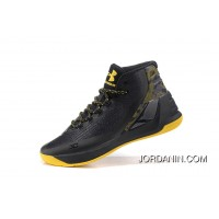 Buy Under Armour Curry Three Black Yellow Cheap Mens Shoes New Release
