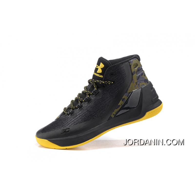 510382ee496d USD  87.03  252.39. Buy Under Armour Curry Three Black Yellow Cheap ...
