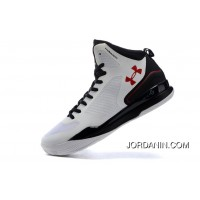 Under Armour Curry Three White Red Cheap Mens Shoes New Release