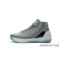 Cheap Under Armour Curry Three Grey Blue New Mens Shoes Copuon Code