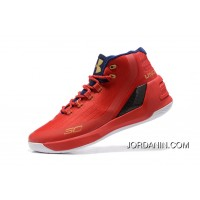 Discount Under Armour Curry 3 Red New Mens Shoes For Sale