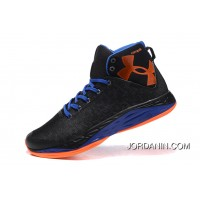 UA Curry Mens Basketball Shoes Black Blue New Release