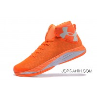 UA Curry Mens Basketball Shoes Orange New Style