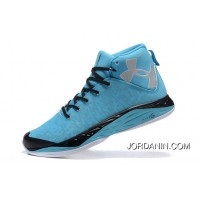 UA Curry New Mens Basketball Shoes Blue Free Shipping