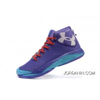 UA Curry New Mens Basketball Shoes Purple Discount
