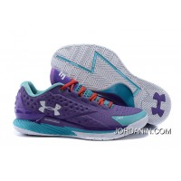Under Armour Curry 1 Low Purple Blue Red Sneaker Best