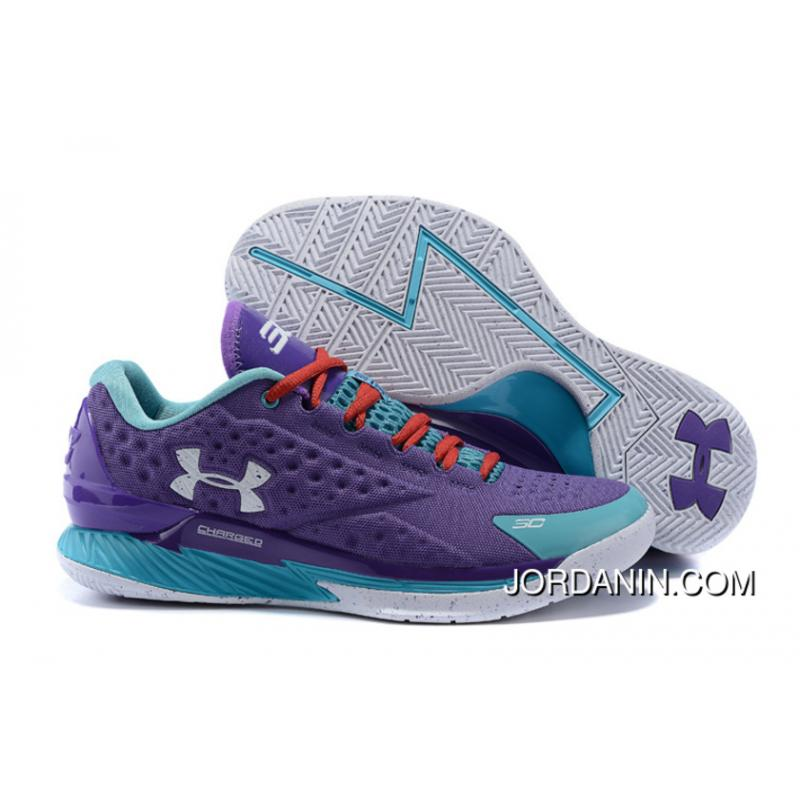 bfa52c80d395 USD  87.71  228.04. Under Armour Curry 1 Low Purple Blue Red ...