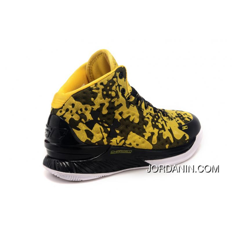 super popular edfd3 18deb ... Under Armour Curry One Custom Army Yellow Sneaker Authentic