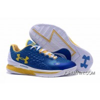 Under Armour Curry One Low Women Blue White Home Sneaker Cheap To Buy