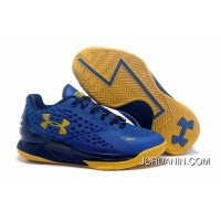 Under Armour Curry One Low Women Blue Yellow Sneaker Cheap To Buy