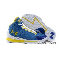 Under Armour Curry One Women Blue Home Sneaker For Sale