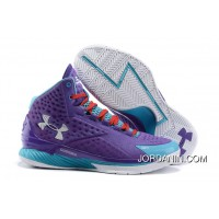 Under Armour Curry One Women Purple Month Sneaker For Sale