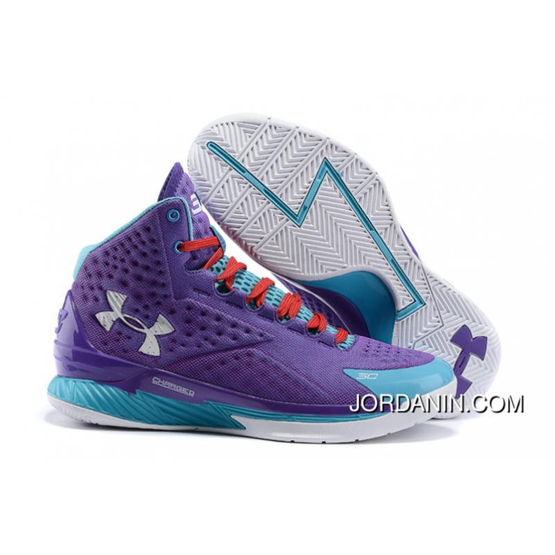 USD  87.03  269.78. Under Armour Curry One Women Purple Month Sneaker For  Sale ... b1ac93a1b2