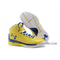 Under Armour Curry One Women Yellow Orchid Sneaker Best