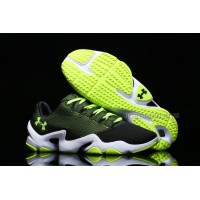 UA Phenom Proto Training Shoes Black Volt White Sale