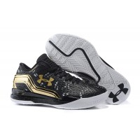 Hot UA ClutchFit Drive Low Black Gold White