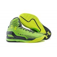 Cheap Under Armour ClutchFit Drive Stephen Curry PE Green Volt Black